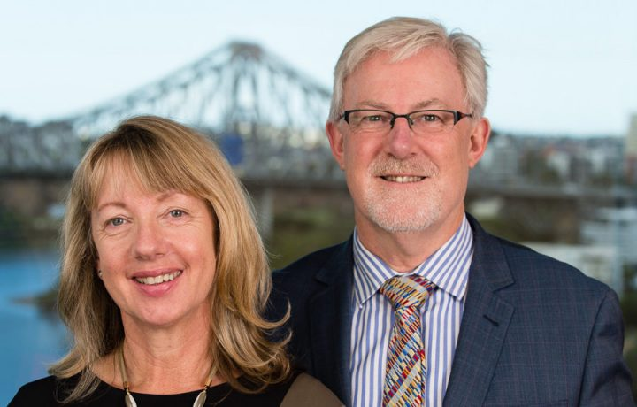 Carrie Jones and Andrew Barham, Directors of Auditor Trianing Centre