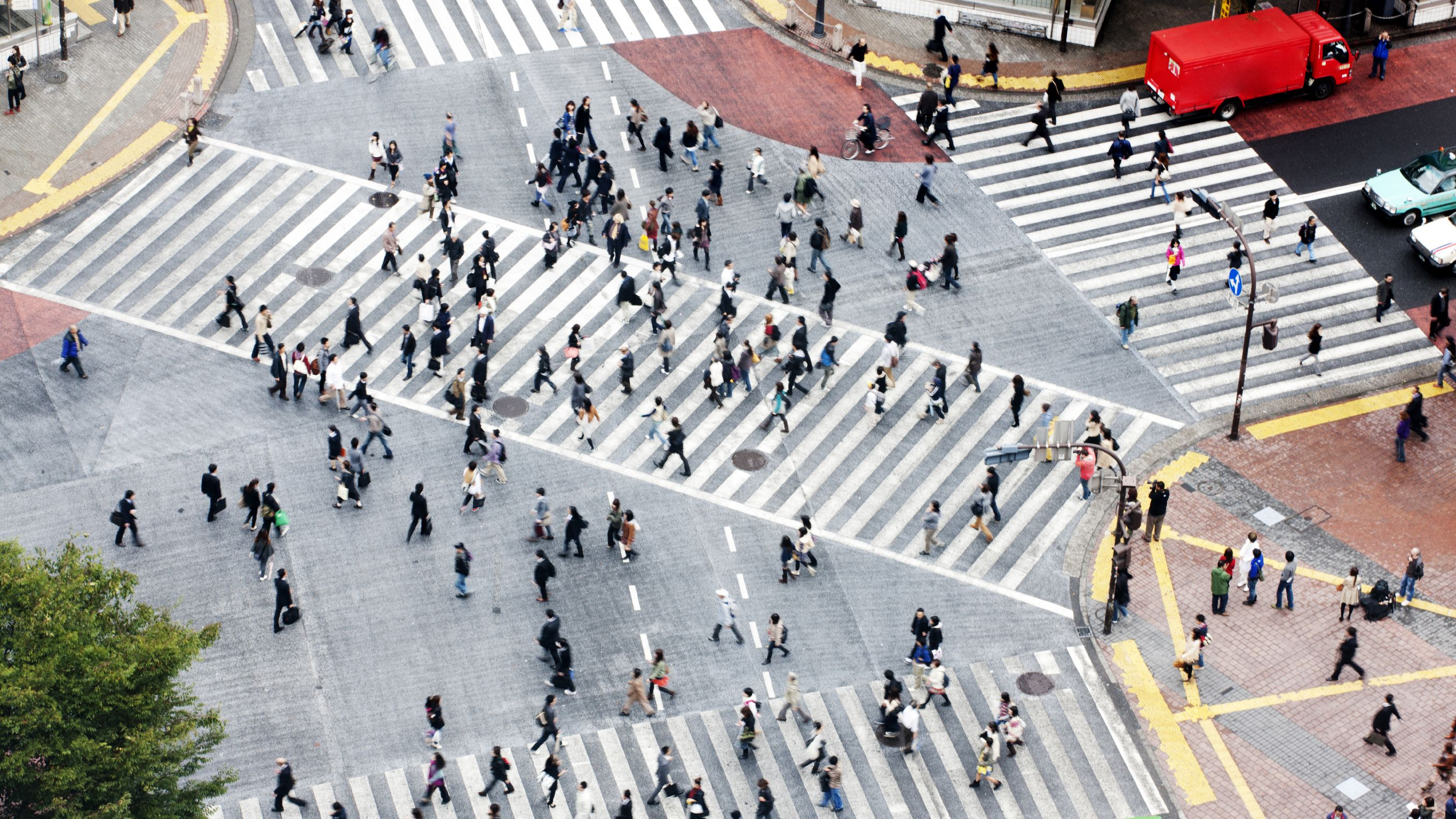 High Level Strucutre - Photo of a pedestrian crossing